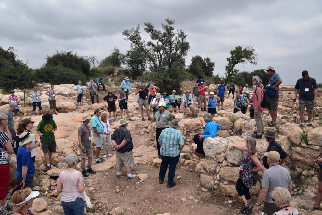 Kh Qeiyafa May 2018 Israel Tour Dr. John DeLancey