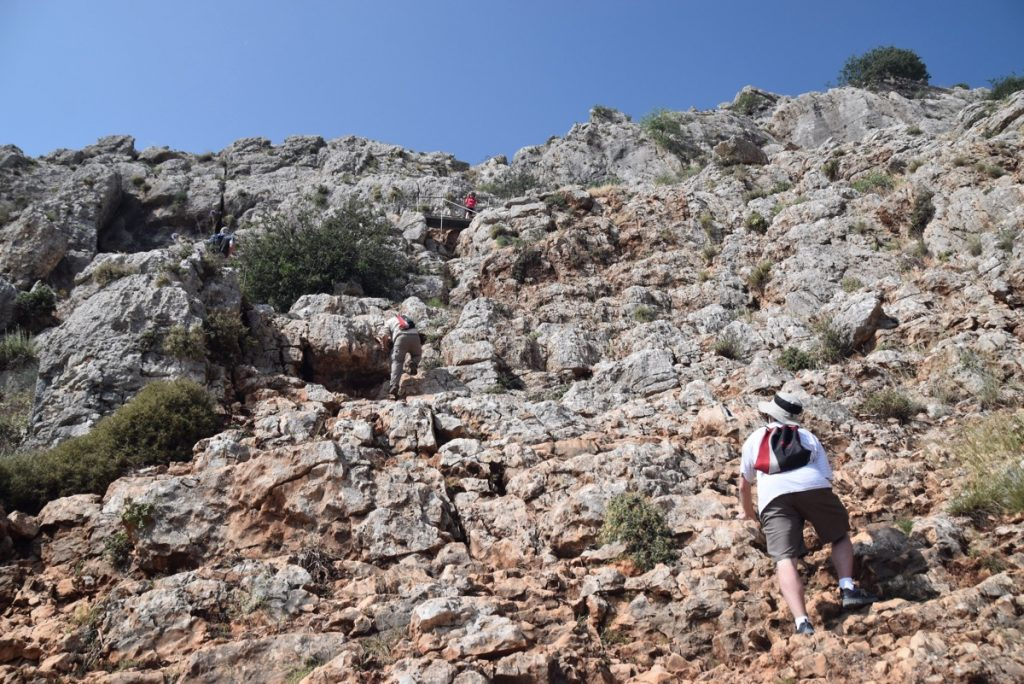 Cliff of Arbel May 2018 Israel Tour Dr. John DeLancey