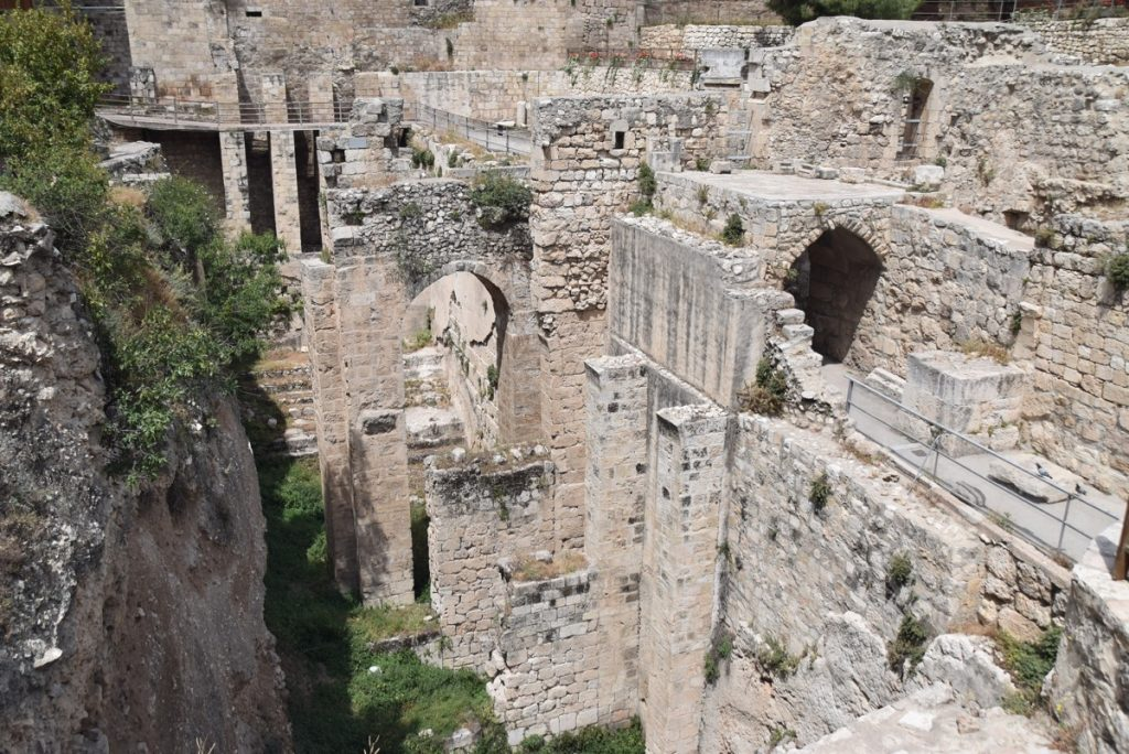 Jerusalem Pools of Bethesda May 2018 Israel Tour Dr. John DeLancey