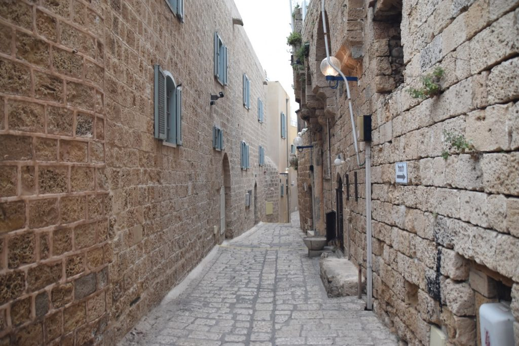 Jaffa May 2018 Israel Tour with John DeLancey