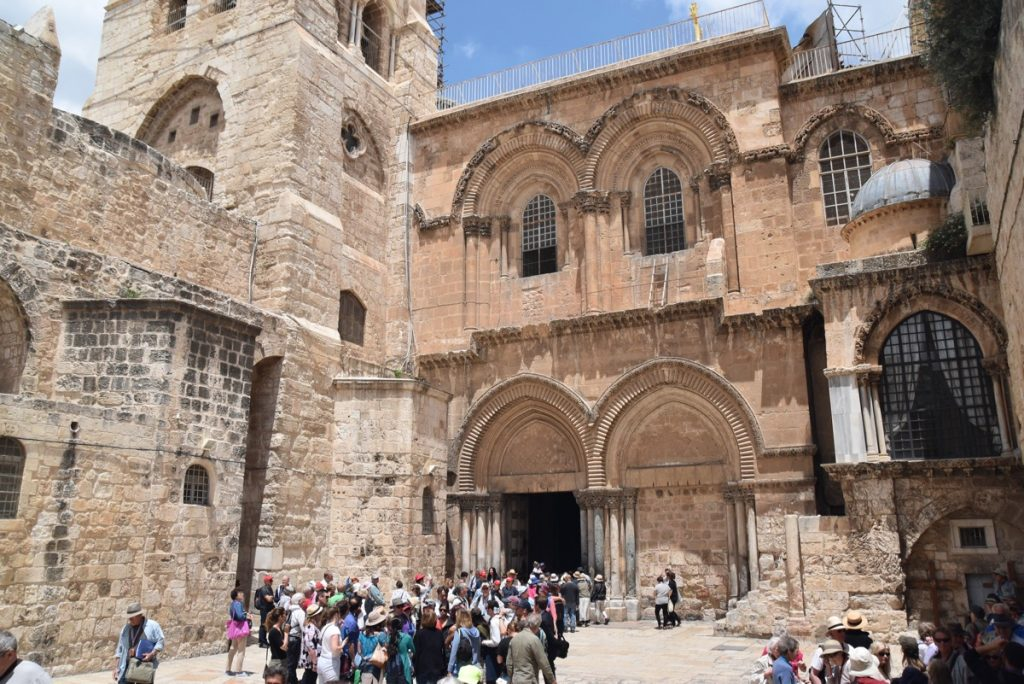 Jerusalem Old City Holy Sepulcher May 2018 Israel Tour Dr. John DeLancey