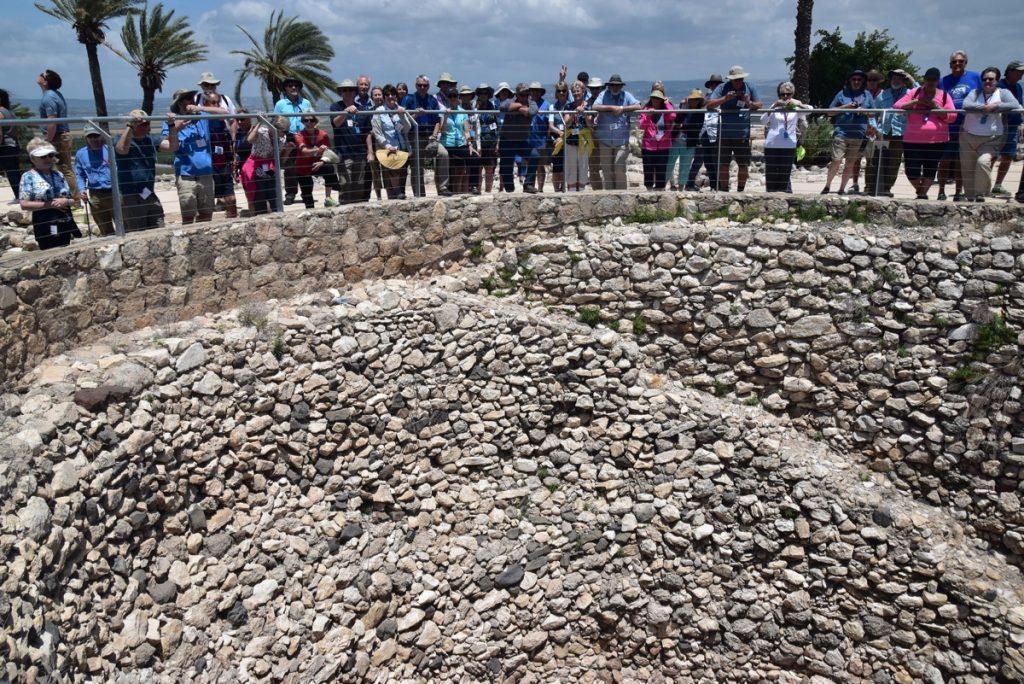 Grain Bin Megiddo May 2018 Israel Tour Dr. John DeLancey