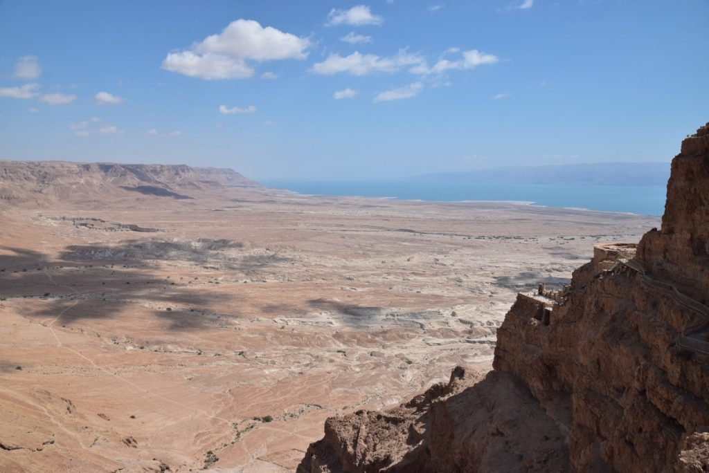 Masada northern palace May 2018 Israel Tour Dr. John DeLancey