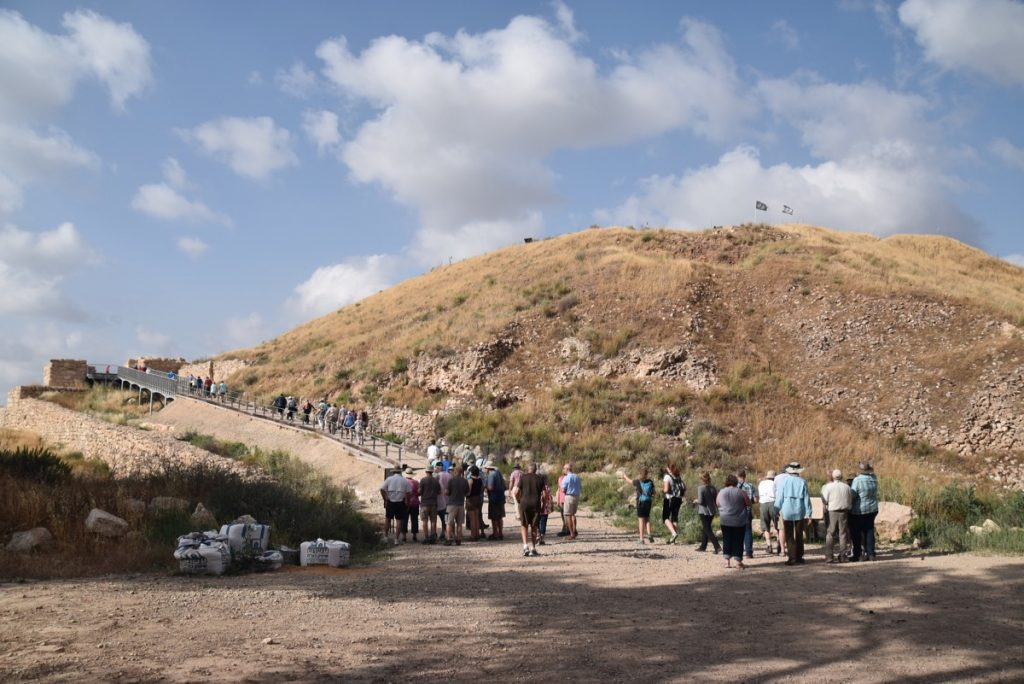 Lachish May 2018 Israel Tour Dr. John DeLancey