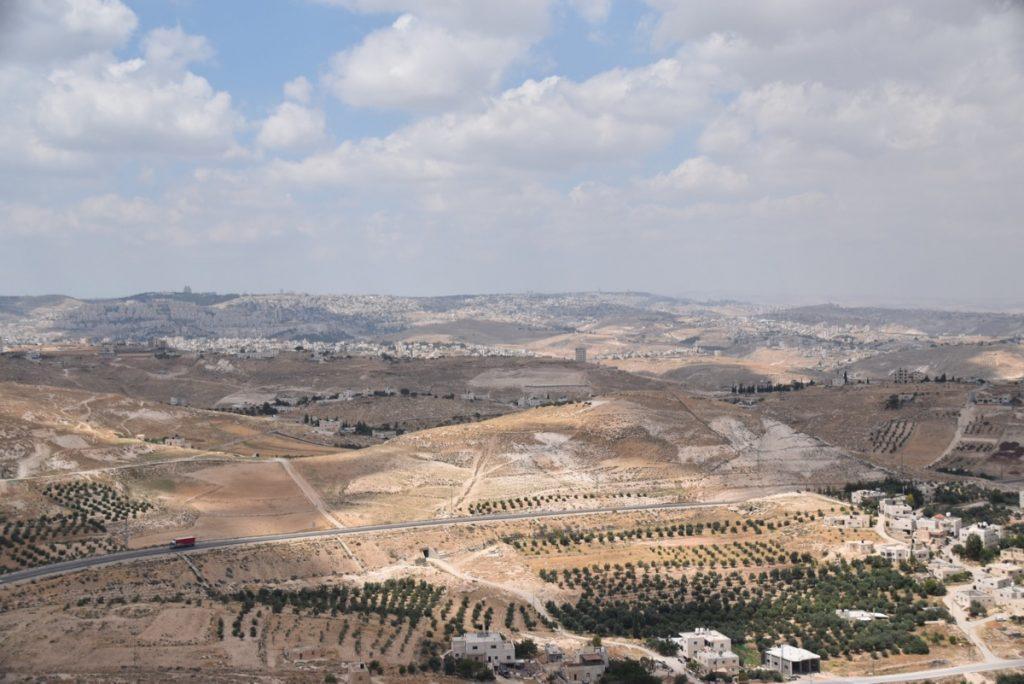 Herodium view May 2018 Israel Tour Dr. John DeLancey