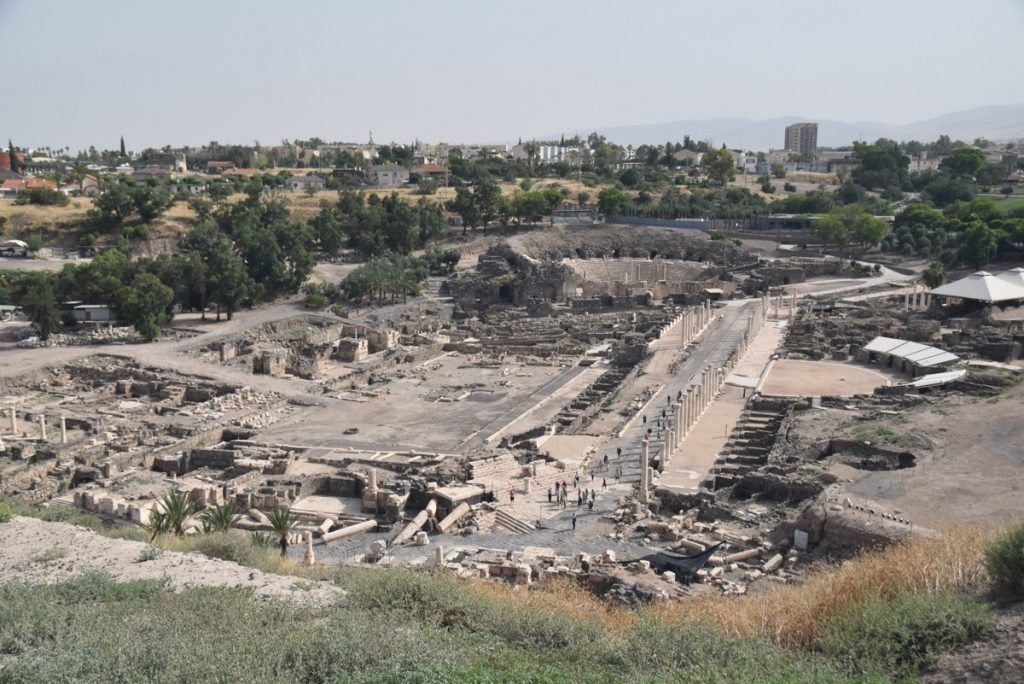 Beth Shean May 2018 Israel Tour Dr. John DeLancey