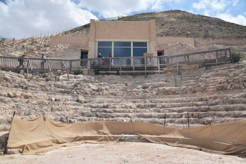 Herodium May 2018 Israel Tour Dr. John DeLancey