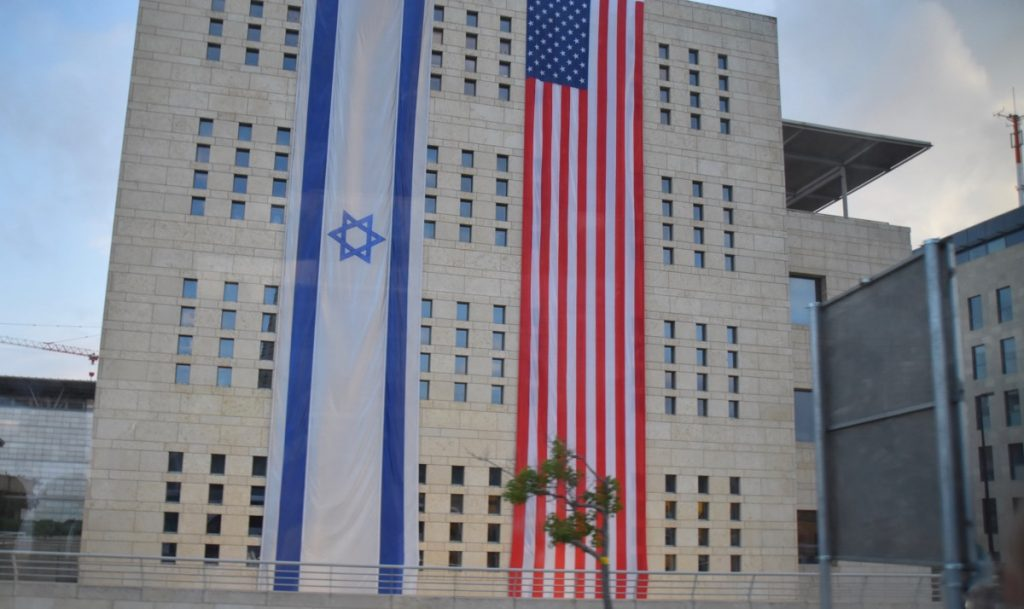 Trump Driving into Jerusalem May 2018 Israel Tour Dr. John DeLancey
