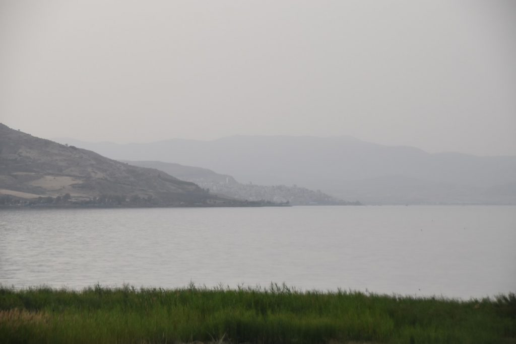 Sea of Galilee Maagan May 2018 Israel Tour Dr. John DeLancey