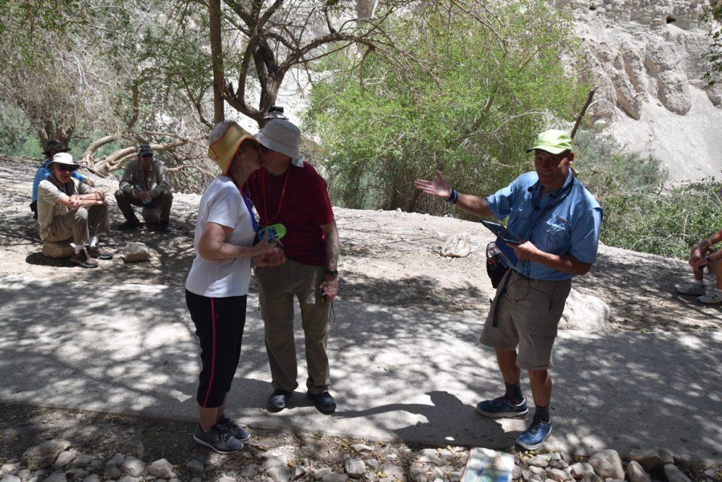Engedi May 2018 Israel Tour Dr. John DeLancey