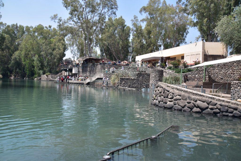 Baptism JOrdan River May 2018 Israel Tour Dr. John DeLancey