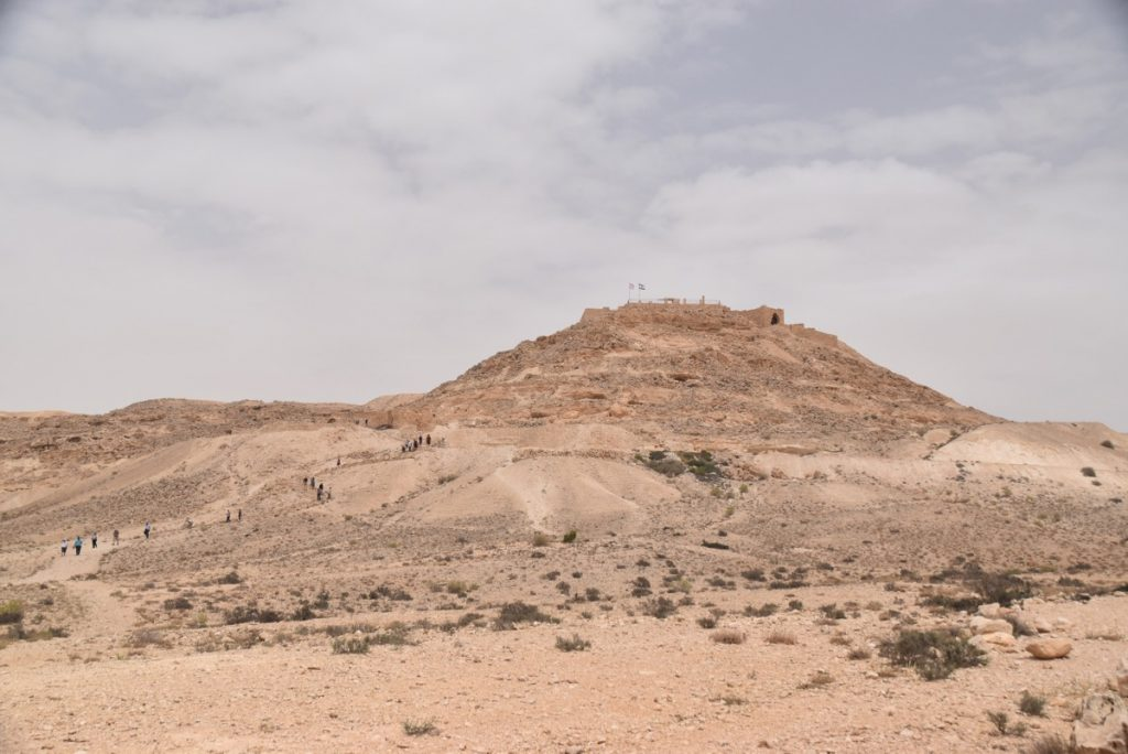 Avdat May 2018 Israel Tour Dr. John DeLancey