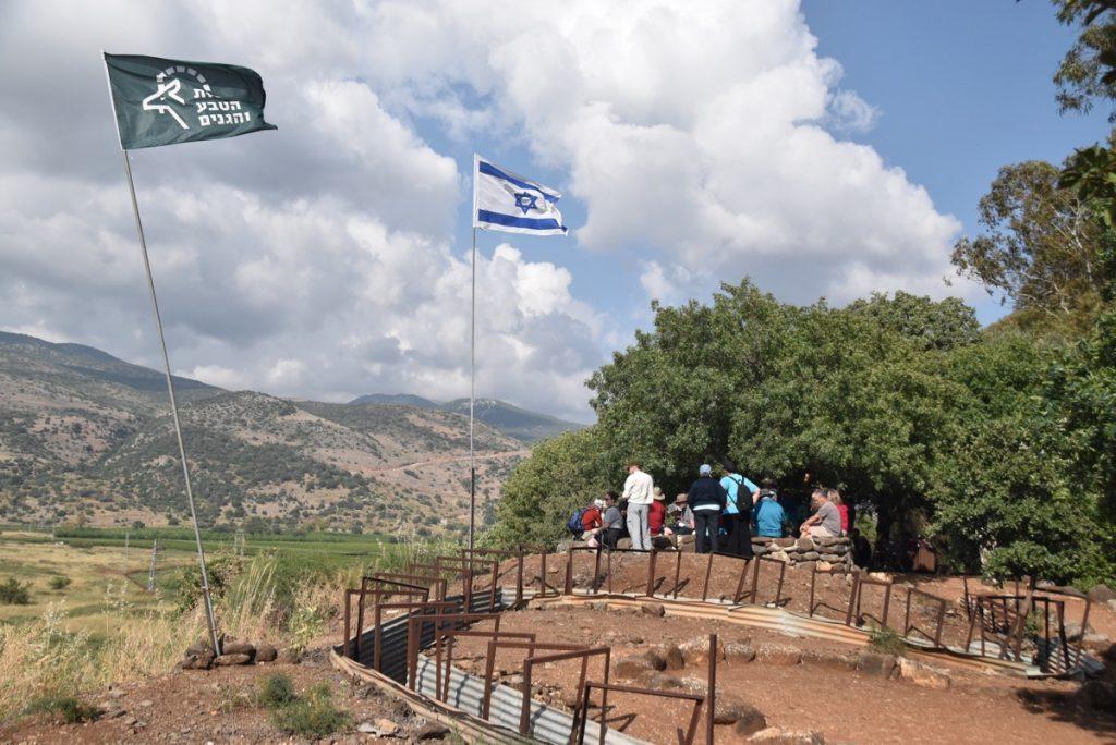 Israel-Lebanon border May 2018 Israel Tour Dr. John DeLancey