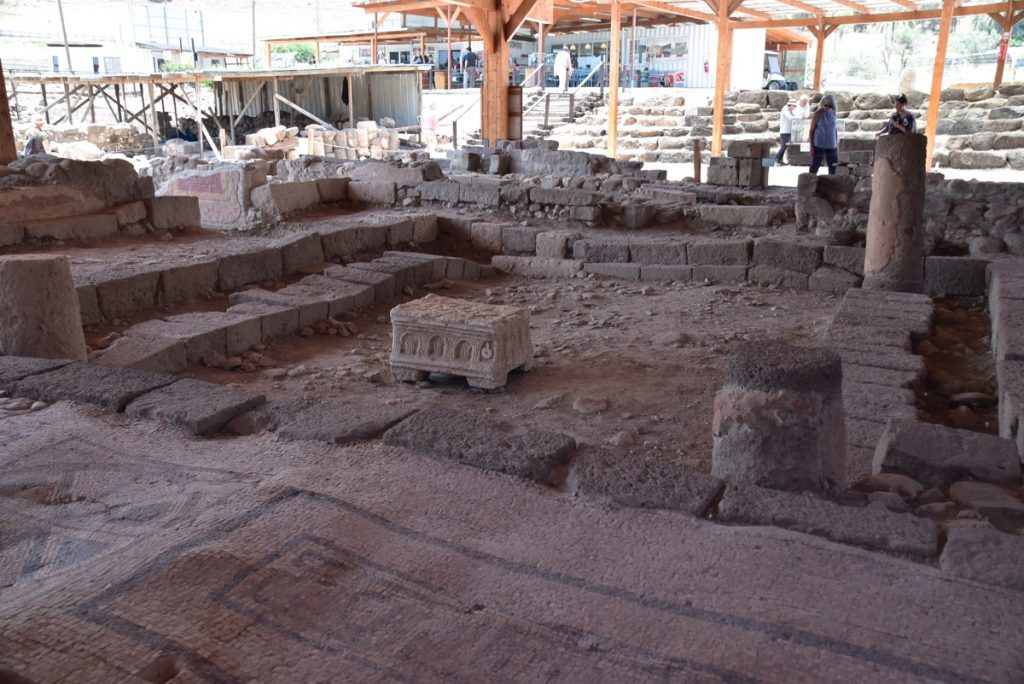Synagogue Magdala May 2018 Israel Tour Dr. John DeLancey