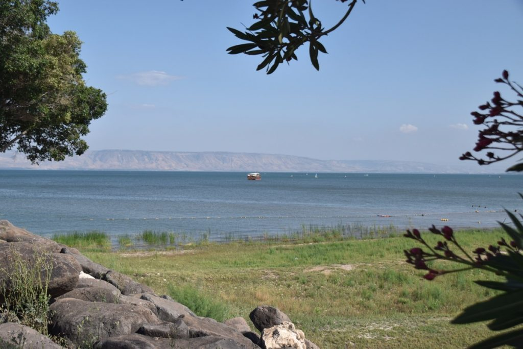 Sailing the sea of Galilee May 2018 Israel Tour Dr. John DeLancey