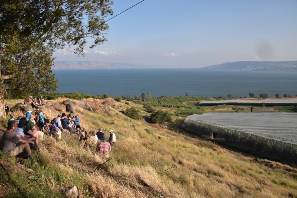 Mt. Beatitudes May 2018 Israel Tour Dr. John DeLancey