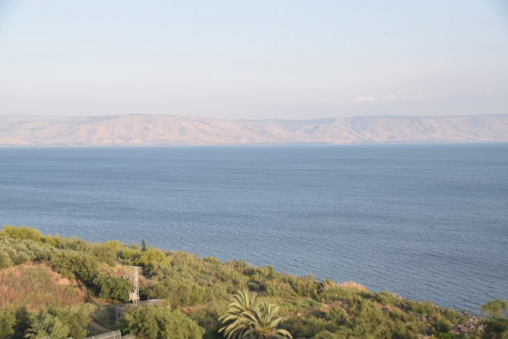 Sea of Galilee May 2018 Israel Tour Dr. John DeLancey