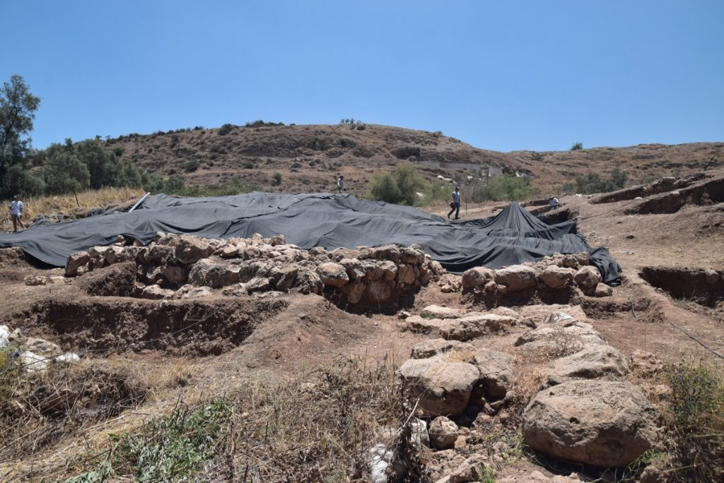 Gath Dig - Archaeological excavation of tel es-safi - Day 1