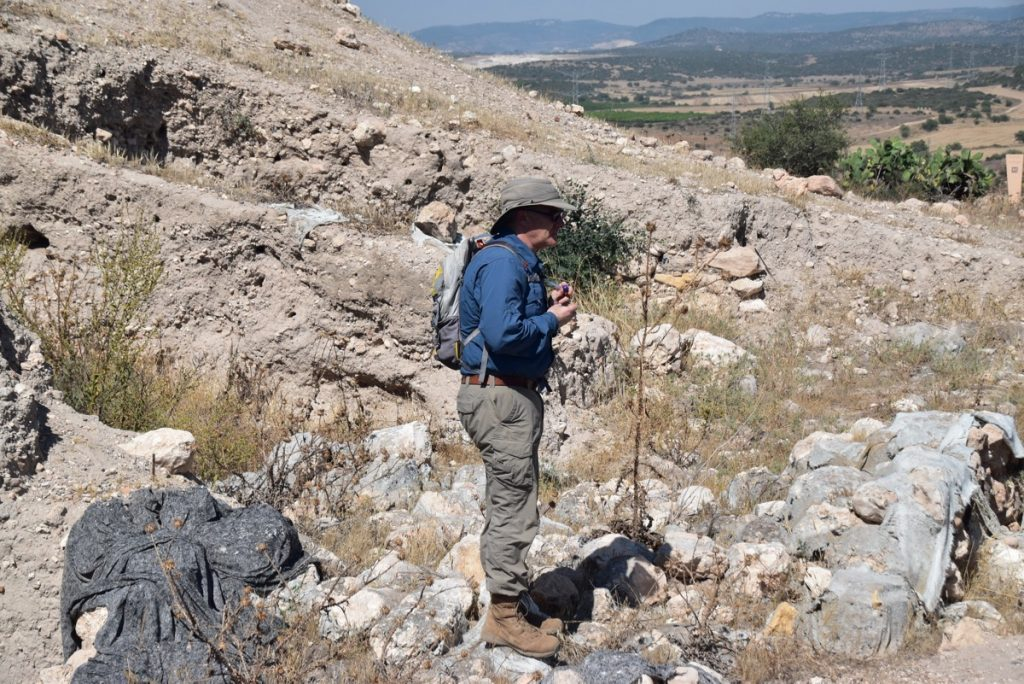 Aren Maeir Gath Dig - Archaeological excavation of tel es-safi - Arrival Day