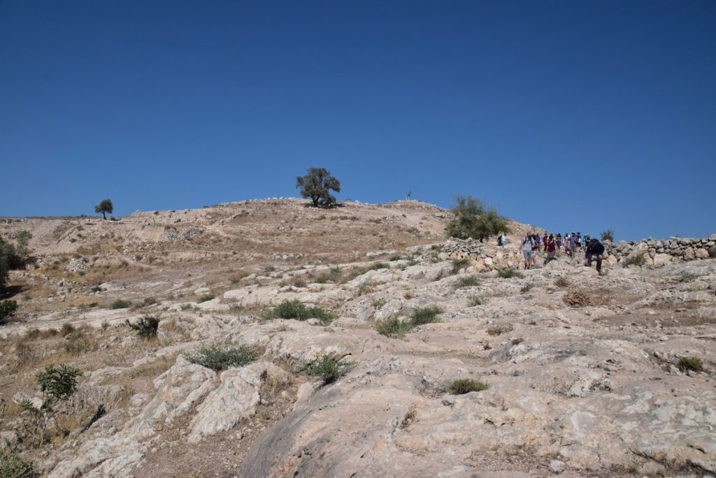 Gath Dig - Archaeological excavation of tel es-safi - Arrival Day
