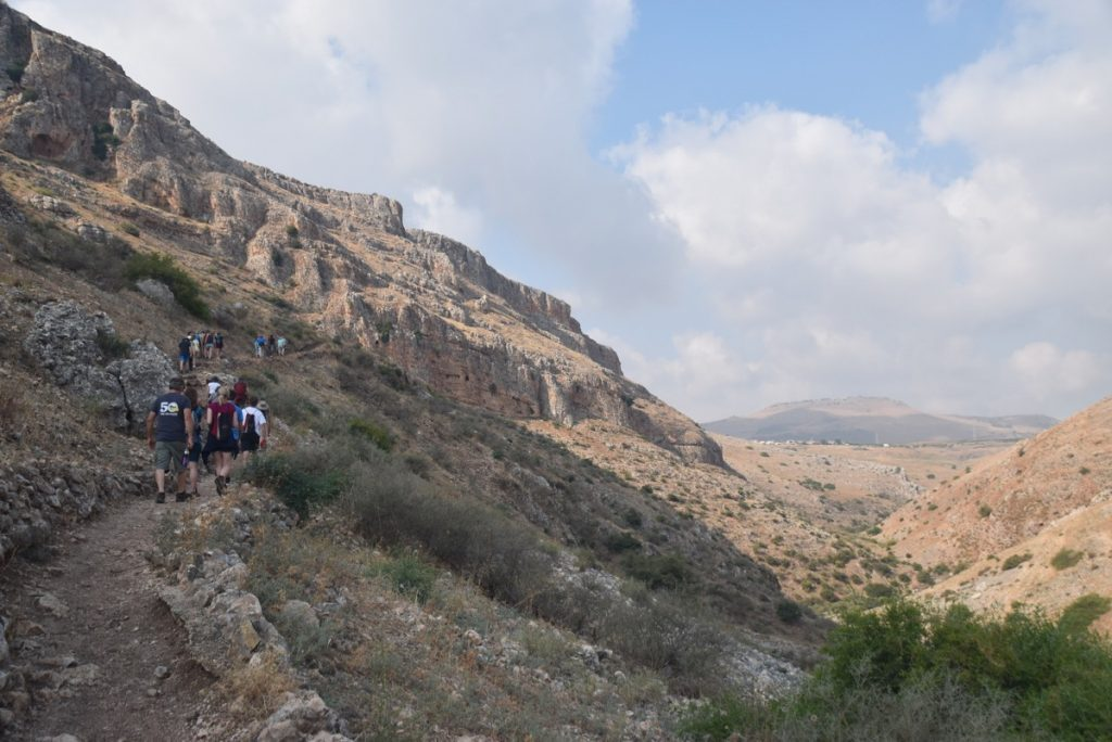 June 2018 Israel Tour - Holyland trip The Galilee with John DeLancey
