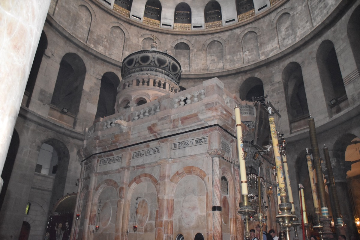 The Edicule of the Holy Sepulcher