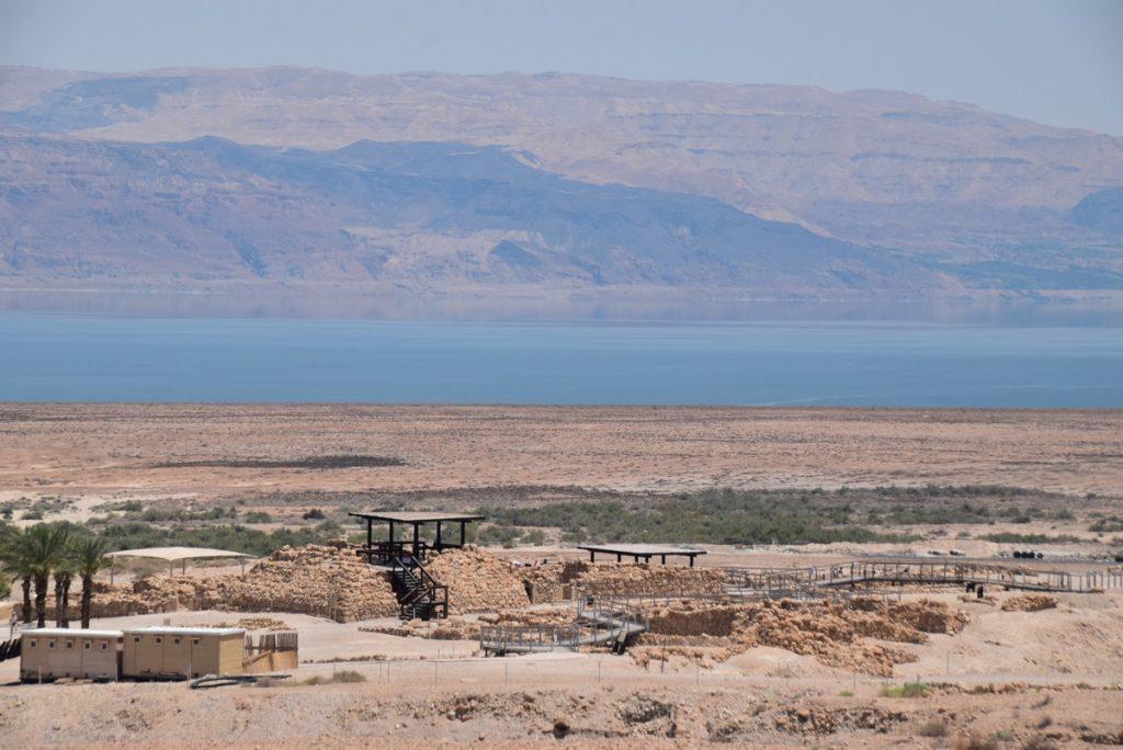 June 2018 Israel tour Holyland Qumran Dr. John DeLancey