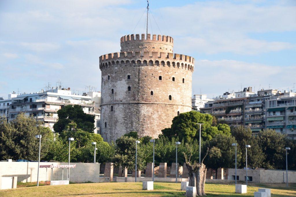 White Tower Thessaloniki Greece Tour Sept 2018 with John DeLancey