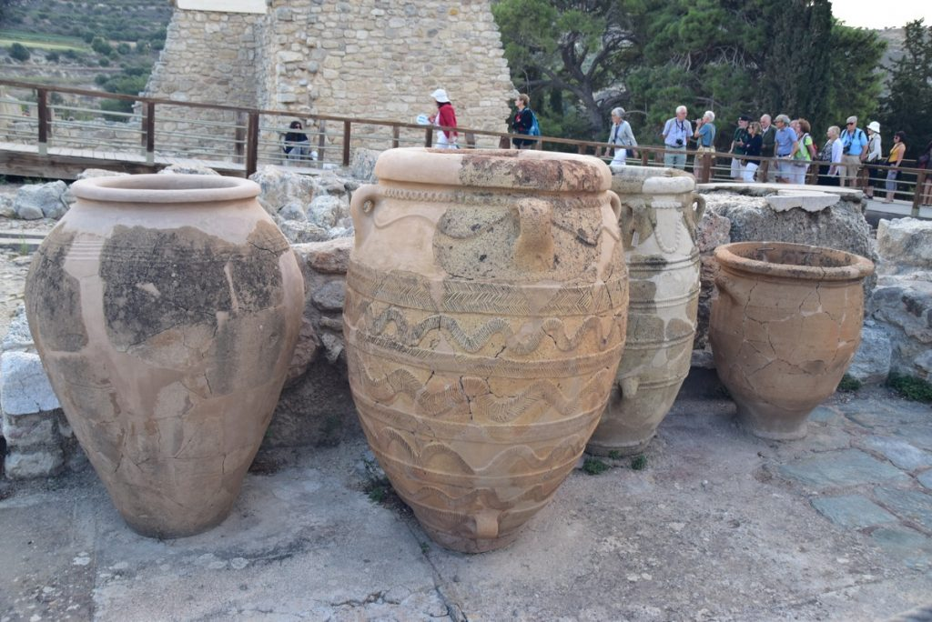 Knossos Palace Crete Greece Tour 2018 John DeLancey