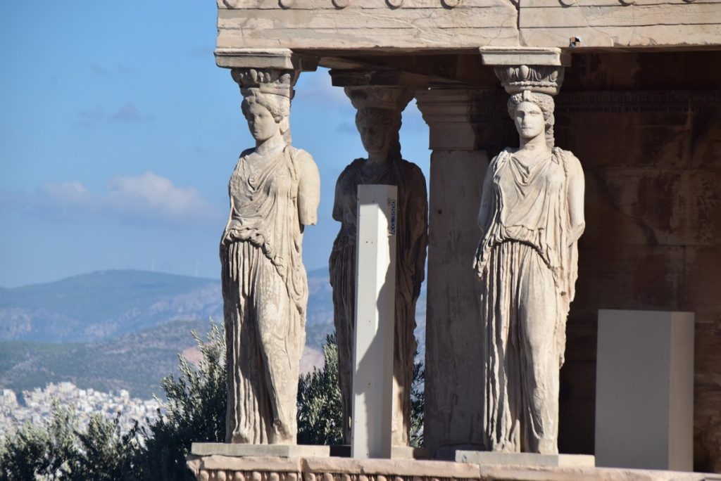 Athens Acropolis Erechtheum Greece Tour Biblical Israel Ministries & Tours with John DeLancey