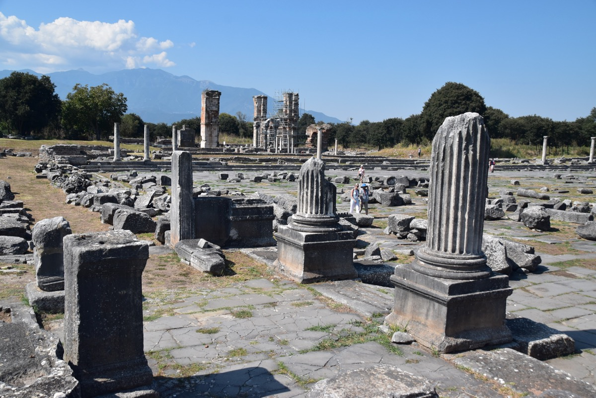 Philippi pillars