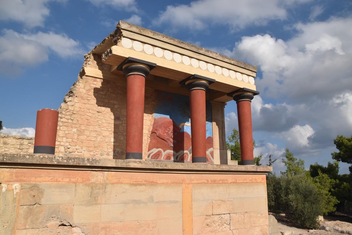 Minoan Knossos Palace - Crete