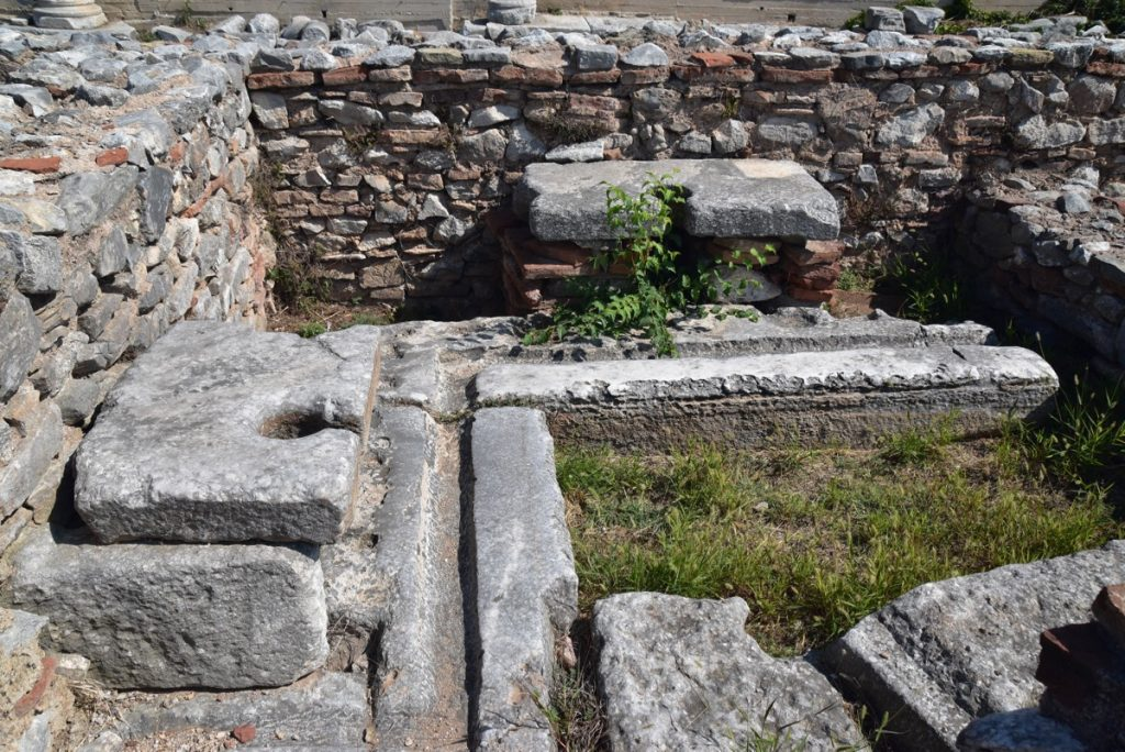 Philippi latrene Greece Tour Sept 2018 with John DeLancey