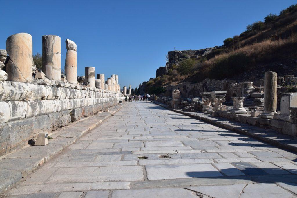 Ephesus cardo Turkey Greece Tour 2018 John DeLancey