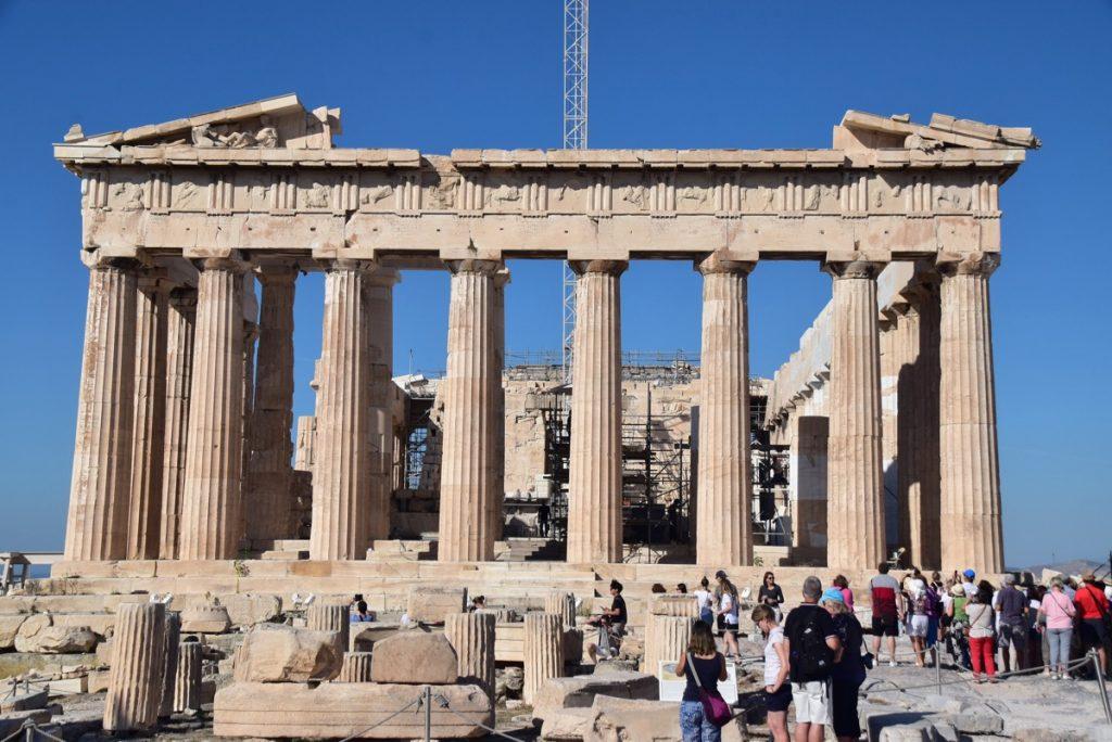 Athens Acropolis Parthenon Greece Tour Biblical Israel Ministries & Tours with John DeLancey