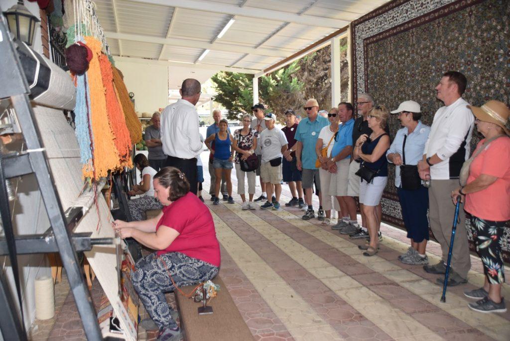 Carpets Turkey Greece Tour 2018 John DeLancey