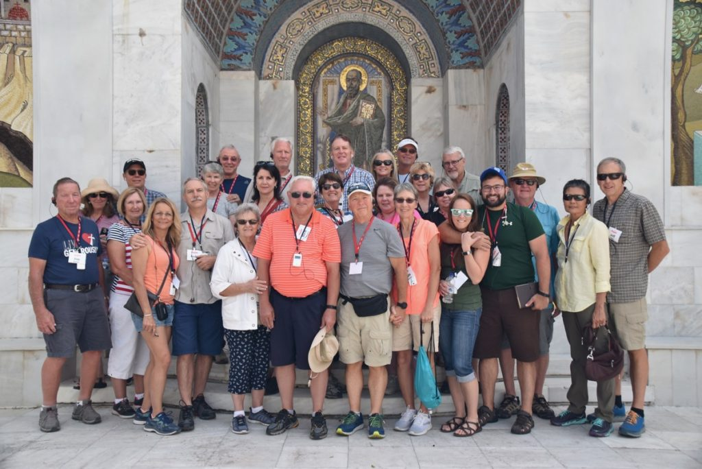 Berea Greece Tour Biblical Israel Ministries & Tours with John DeLancey