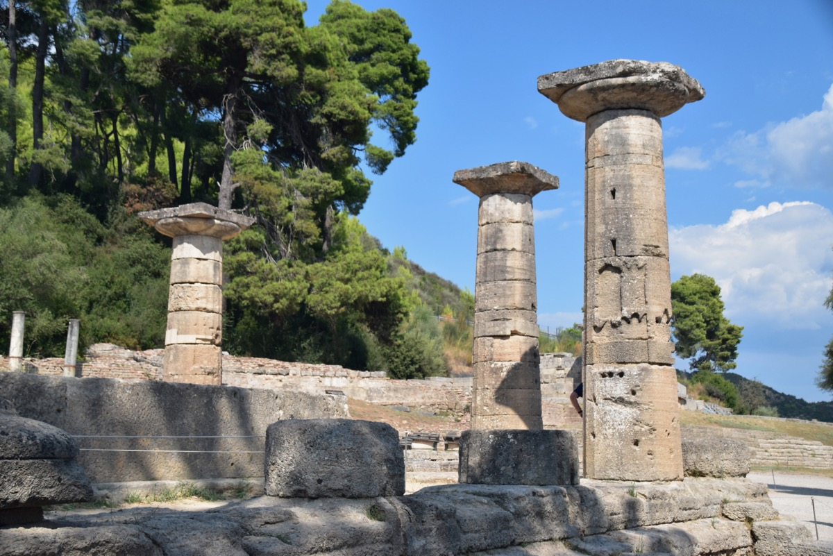 Temple of Hera, 6th c BC