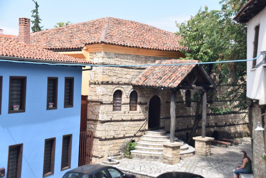 Berea synagogue Greece Tour Sept 2018 with John DeLancey