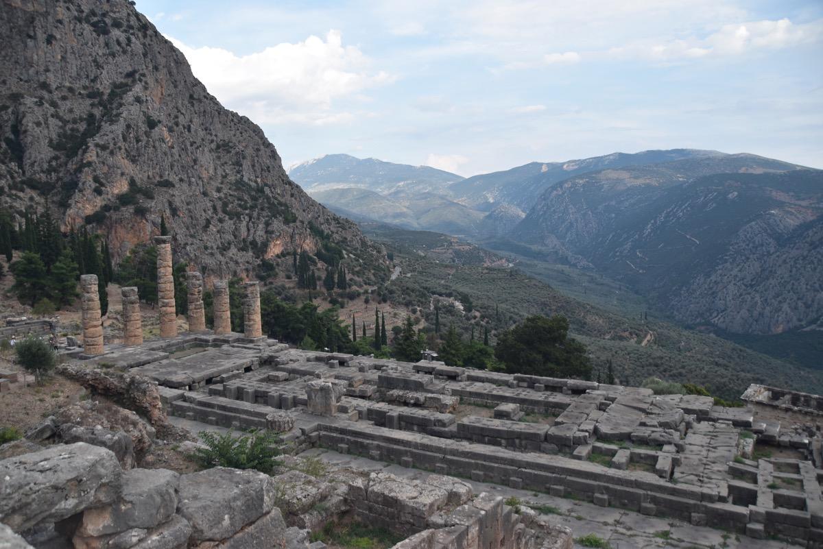Delphi - Temple of Apollo