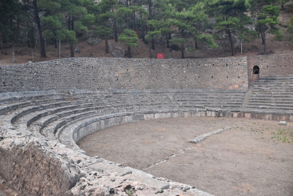 Delphi Greece Tour Biblical Israel Ministries & Tours John DeLancey
