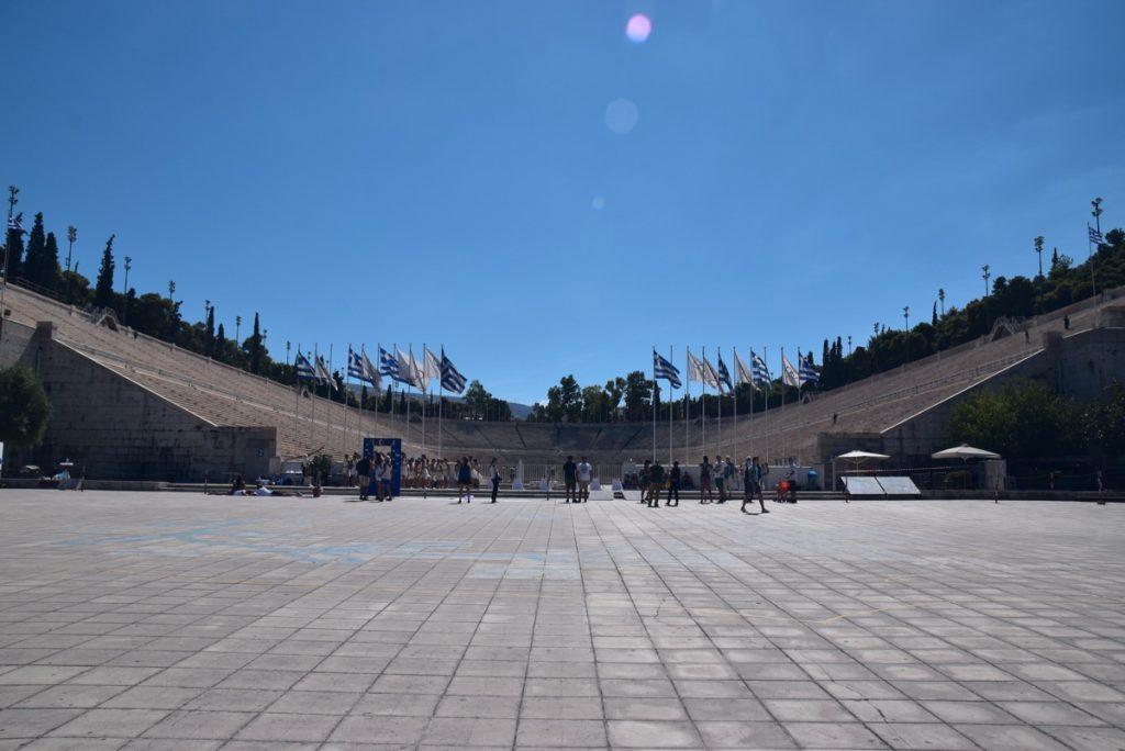 Athens stadium Greece Tour Biblical Israel Ministries & Tours with John DeLancey