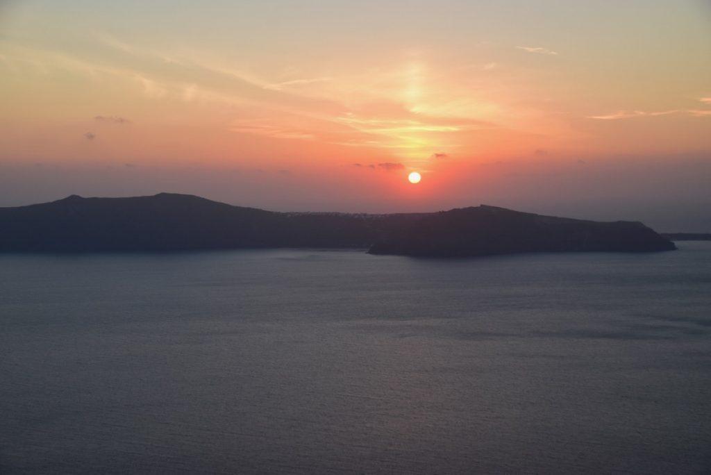 Santorini Island sunset Greece Tour 2018 John DeLancey