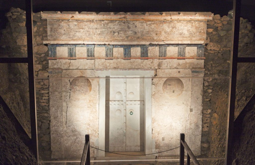 Vergina Philip 2 Tomb Greece Tour Sept 2018 with John DeLancey