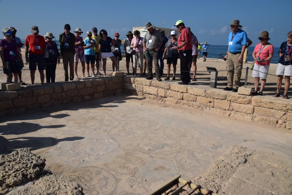 Caesarea Orchard Hill Church Israel Tour October 2018