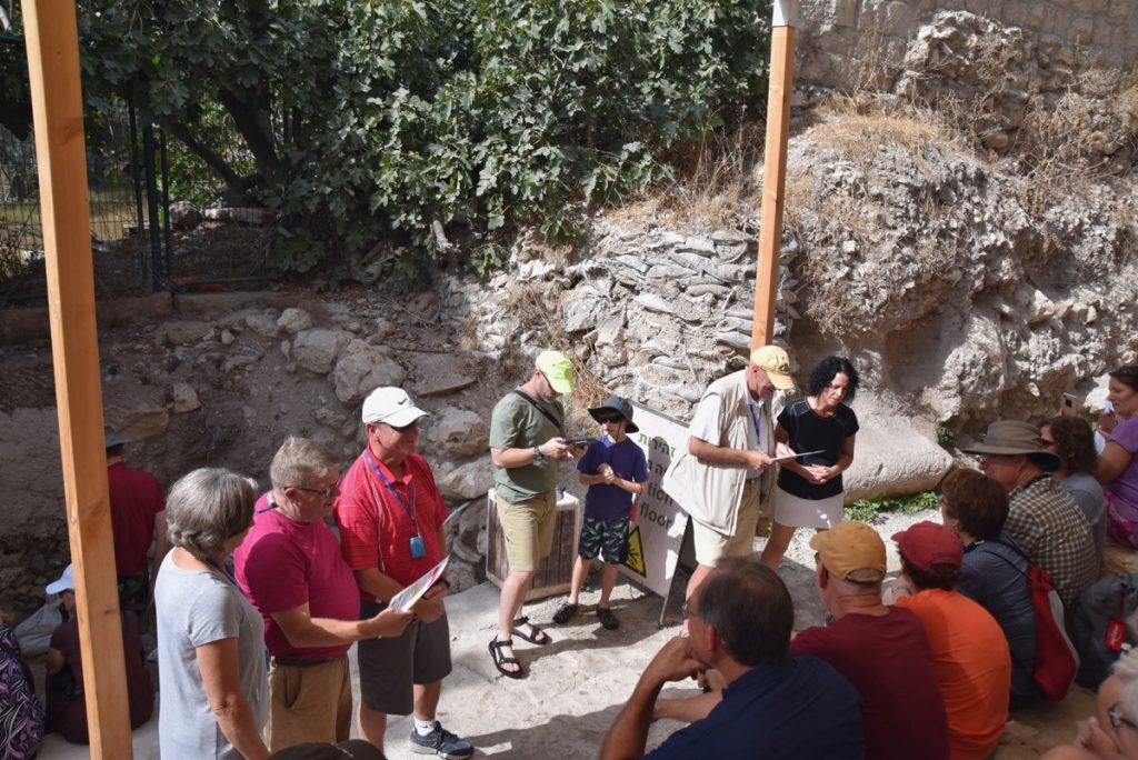 City of David Pool of Siloam Orchard Hill Church Israel Tour