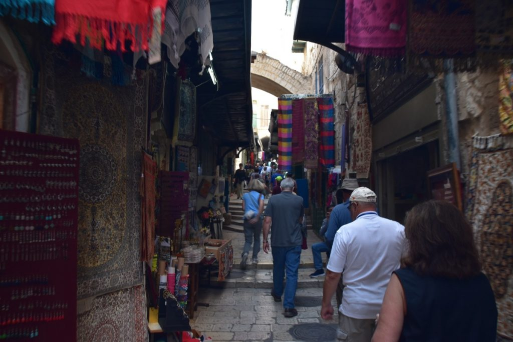 Old City Jerusalem Orchard Hill Church Wexford PA Israel Tour October 2018