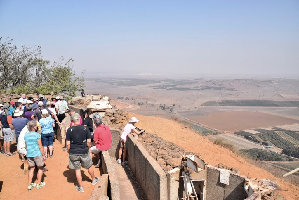 Bental Golan Heights October 2018 Orchard Hill Israel Tour