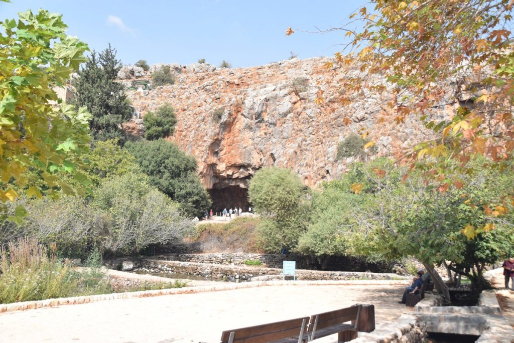 Caesarea Philippi Heights October 2018 Orchard Hill Israel Tour