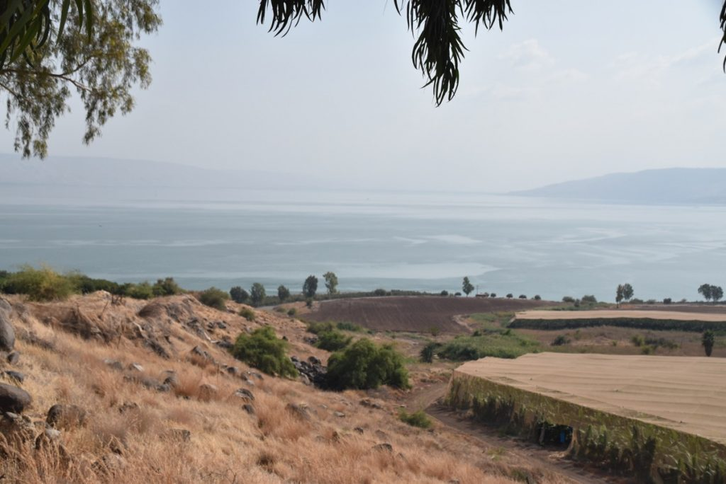 Mt. of Beatitudes Orchard Hill Church Israel Tour October 2018
